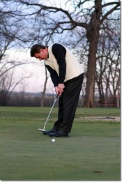 the physical putting stroke